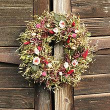 Dekorácie - Venček na dvere - 13731336_