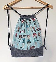 Detské tašky - Detský ruksak, batoh, vak... Dievčatá veľ.M - 13732130_