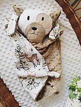 Hračky - Mojkacik psík béžový - 13731898_