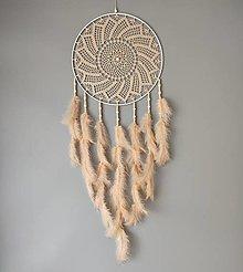 Dekorácie - Lapač snov 35 x 95 cm - 13729908_