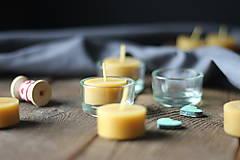 Svietidlá a sviečky - Čajové sviečky štartovacia sada malá - 13732714_