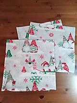 Úžitkový textil - Vianočná obliečka na vankúš 40x40 I. - 13731650_
