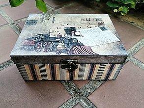Krabičky - pánska krabica - 13730806_