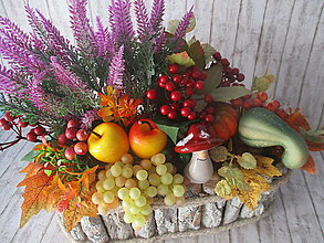 Dekorácie - Jesenná dekorácia - 13734877_