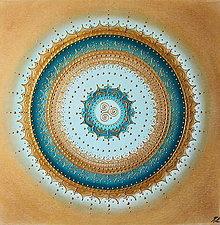 Obrazy - Mandala LÁSKA A PLODNOSŤ 60 x 60 (50 x 50 cm) - 13732756_
