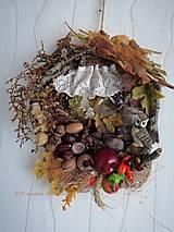 """Dekorácie - jesenný venek """"chalúpka"""" - 13734443_"""