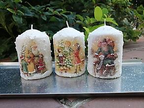 Svietidlá a sviečky - väčšie sviečky - 13734772_