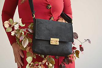 Kabelky - Leona kabelka (čierna) - 13736485_