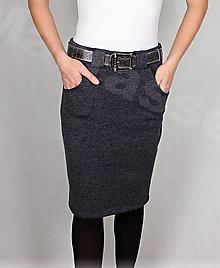 Sukne - Sukně s kapsami vz.411(krásně hřejivá,více barev) - 13736430_