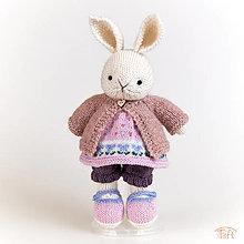 """Hračky - zajka """"Lillie"""" - 13736869_"""