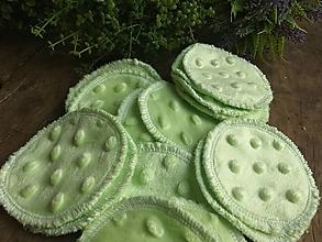 Úžitkový textil - Minky kozmetický tampón 3 ks - 13738783_