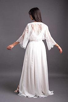 Šaty - Boho šaty 2v1 v županovom štýle v páse na gumičku - 13736922_