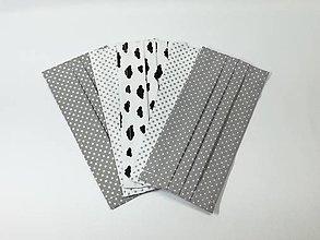 Rúška - Rúška antibakteriálne 4 kusy ,skladom - 13742949_