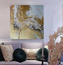 Obrazy - Gold-EPOX 50x50 - 13742777_