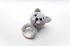 Hračky - Hryzadlo mačka - 13742688_