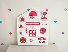 Hračky - Activity board DOM - 13743131_