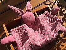Hračky - mojkáčik pre detičky ružový - 13742486_