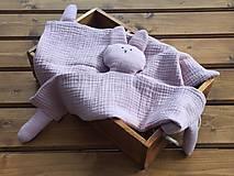 Hračky - mojkáčik pre detičky staroružový - 13742530_