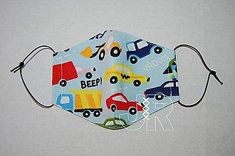 Rúška - rúško autá - 13741303_