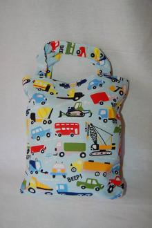 Iné tašky - taška na qiuet book - autá alebo pandy - 13741331_