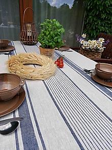 Úžitkový textil - Ľanový obrus Tuscany - 13742631_