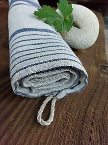Úžitkový textil - Ľanová osuška Tuscany - 13742655_