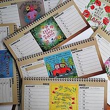 Papiernictvo - Stolový kalendár 2022 - 13745481_