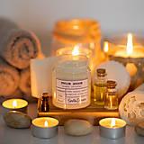 Svietidlá a sviečky - Sviečka zo 100% sójového vosku - Tvoje hygge - 13746485_