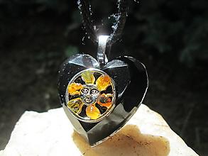 """Náhrdelníky - Org. šperk ,, Sluneční energie """" - 13745487_"""