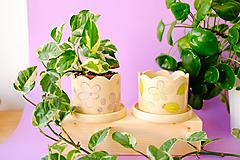 Nádoby - Kvetináč z kolekcie Každý deň - 13746752_