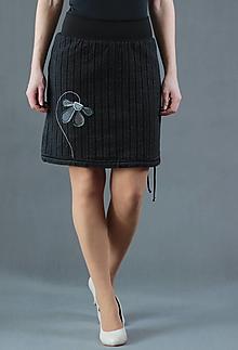 Sukne - Podzimní sukně vel. XL - 13743880_
