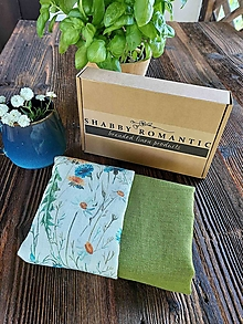 Úžitkový textil - Sada utierok Daisy Green - 13743973_