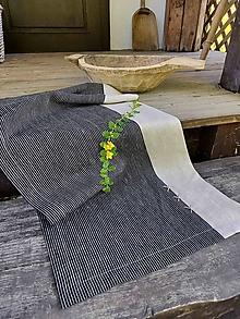 Úžitkový textil - Ľanová štóla Good Choice - 13745277_