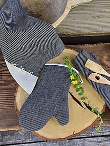 Úžitkový textil - Ľanová kuchynská chňapka Good Choice - 13745308_