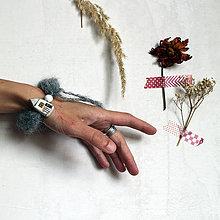 Náramky - Domčeky na vlnách/ náramok IX./ Reserve - 13749344_