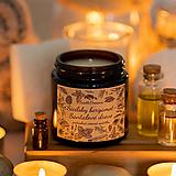 Sviečka zo sójového vosku v hnedom skle - Sicílsky bergamot & Santalové drevo