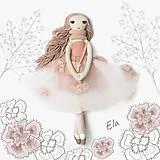 Hračky - Bábika Ela - 13747925_