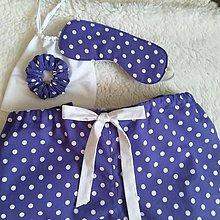 Pyžamy a župany - Pyžamové nohavice s darčekovým setom - 13751330_
