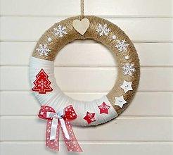 Dekorácie - Vianočný veniec 🎄 - 13752861_