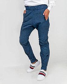 Nohavice - Nepremokavé dámske nohavice Denim Blue Passion - 13751082_