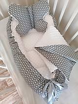Textil - Obojstranné hniezdo pre bábätko - 13753626_