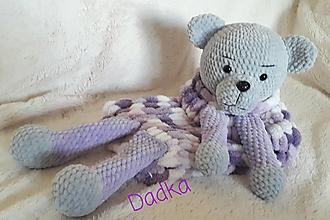 Hračky - Pyžamožrút  alebo mojkačik medvedík Brumko - 13752449_