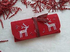 Taštičky - Čas vianočný (púzdro do kabelky) - 13755918_