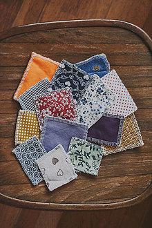 Úžitkový textil - Odličovacie tampóny - 13754995_