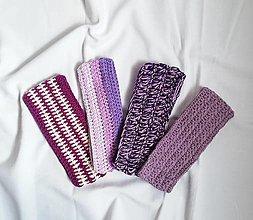 Čiapky - Ručne háčkované čelenky vyrobené z bavlny - 13754978_