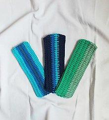 Čiapky - Ručne háčkované čelenky vyrobené z bavlny - 13755006_