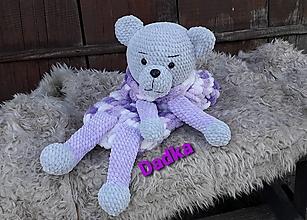 Hračky - Pyžamožrút  alebo mojkačik medvedík Brumko - 13755670_