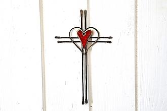 Rámiky - tepaný krížik * 19 cm - 13753905_