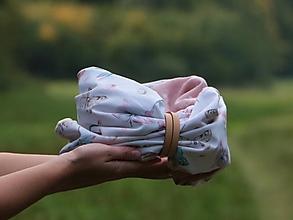 Šály - Štýlový nákrčník motýle a vážky - 13756438_