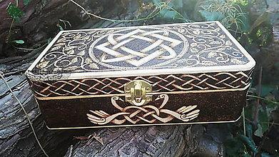 Krabičky - Šperkovnica Lada - 13757336_